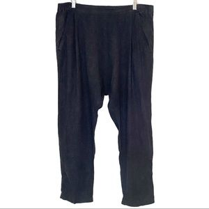 URBAN OUTFITTERS   BDG ultra relaxed linen blend pant